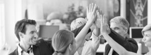 Header - Teamwork High Five